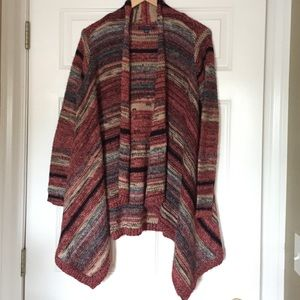 American Eagle Outfitters multi-color cardigan